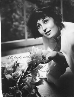 LUISE RAINER - BOOK PHOTOGRAPH SIGNED