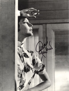 AVA GARDNER - BOOK PHOTOGRAPH SIGNED