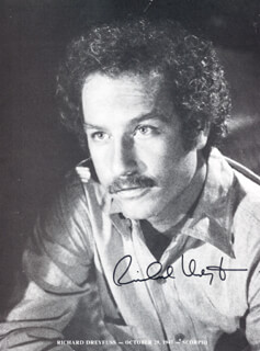 RICHARD DREYFUSS - BOOK PHOTOGRAPH SIGNED