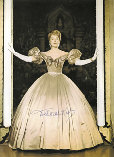 DEBORAH KERR - BOOK PHOTOGRAPH SIGNED