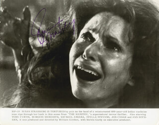 SUSAN STRASBERG - PRINTED PHOTOGRAPH SIGNED IN INK