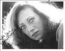 MARISA BERENSON - AUTOGRAPHED SIGNED PHOTOGRAPH