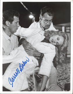 CARROLL BAKER - AUTOGRAPHED SIGNED PHOTOGRAPH