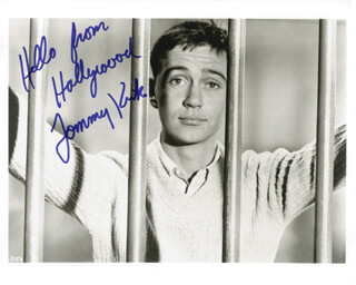 TOMMY KIRK - AUTOGRAPHED SIGNED PHOTOGRAPH