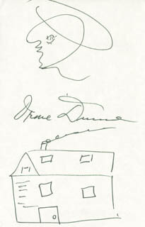 IRENE DUNNE - ORIGINAL ART SIGNED