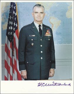 GENERAL WILLIAM C. WESTMORELAND - AUTOGRAPHED SIGNED PHOTOGRAPH
