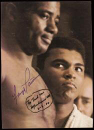 Autographs: MUHAMMAD THE GREATEST ALI - INSCRIBED MAGAZINE COVER SIGNED 02/03/1988 CO-SIGNED BY: FLOYD PATTERSON