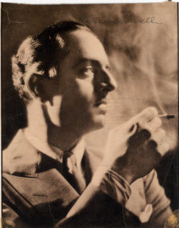 WILLIAM POWELL - MAGAZINE PHOTOGRAPH SIGNED