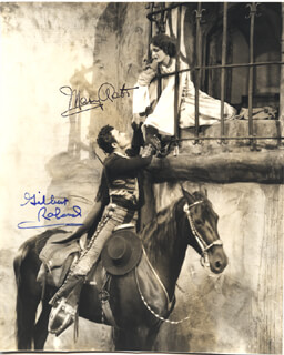 ROSE OF THE GOLDEN WEST MOVIE CAST - AUTOGRAPHED SIGNED PHOTOGRAPH CO-SIGNED BY: MARY ASTOR, GILBERT ROLAND