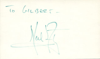 Autographs: NEIL ARMSTRONG - INSCRIBED SIGNATURE