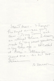 MILDRED DUNNOCK - AUTOGRAPH LETTER SIGNED
