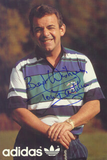 TONY JACKLIN - PRINTED PHOTOGRAPH SIGNED IN INK