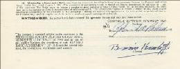BORIS KARLOFF - CONTRACT SIGNED 05/12/1951