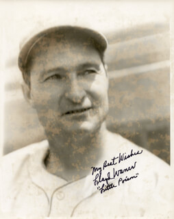 LLOYD LITTLE POISON WANER - AUTOGRAPHED SIGNED PHOTOGRAPH