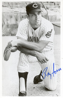 RAY FOSSE - PICTURE POST CARD SIGNED