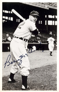 BARNEY McCOSKY - AUTOGRAPHED SIGNED PHOTOGRAPH