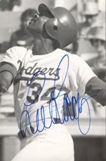 LEE LACY - AUTOGRAPHED SIGNED PHOTOGRAPH