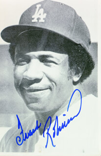 FRANK ROBINSON - AUTOGRAPHED SIGNED PHOTOGRAPH