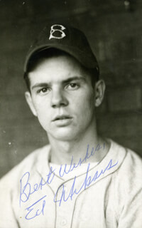 EDDIE MIKSIS - AUTOGRAPHED SIGNED PHOTOGRAPH