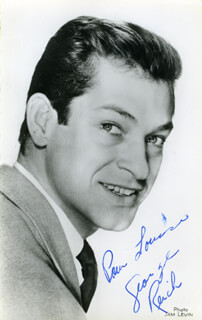 GEORGE REICH - AUTOGRAPHED INSCRIBED PHOTOGRAPH