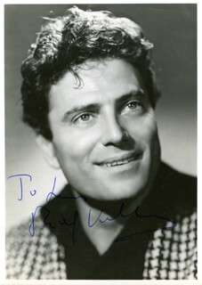 RAF VALLONE - AUTOGRAPHED INSCRIBED PHOTOGRAPH