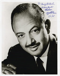 MEL BLANC - AUTOGRAPHED INSCRIBED PHOTOGRAPH 03/11/1968