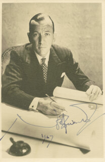 SIR NOEL COWARD - AUTOGRAPHED SIGNED PHOTOGRAPH 1967