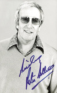 PETER SELLERS - AUTOGRAPHED SIGNED PHOTOGRAPH