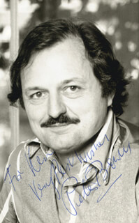 PETER BOWLES - AUTOGRAPHED INSCRIBED PHOTOGRAPH