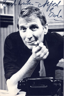 ALFRED BURKE - AUTOGRAPHED SIGNED PHOTOGRAPH