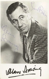 ALAN BROWNING - AUTOGRAPHED SIGNED PHOTOGRAPH