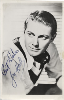 JON HALL - AUTOGRAPHED SIGNED PHOTOGRAPH