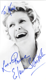 ELAINE STRITCH - AUTOGRAPHED INSCRIBED PHOTOGRAPH