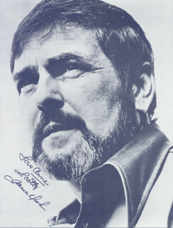 JAMES DOOHAN - INSCRIBED BOOK PHOTOGRAPH SIGNED CIRCA 1976
