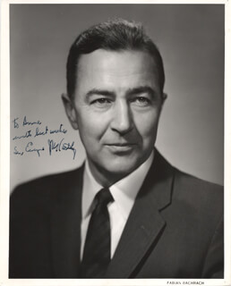 EUGENE J. MCCARTHY - AUTOGRAPHED INSCRIBED PHOTOGRAPH