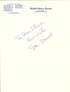 STAN THE MAN MUSIAL - AUTOGRAPH NOTE SIGNED