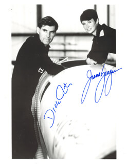 THE VOYAGER CREW - AUTOGRAPHED SIGNED PHOTOGRAPH CO-SIGNED BY: JEANA YEAGER, DICK RUTAN