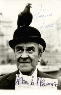 JOHN LE MESURIER - AUTOGRAPHED INSCRIBED PHOTOGRAPH