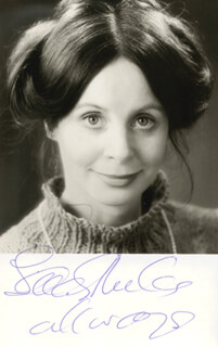 SARAH MILES - AUTOGRAPHED SIGNED PHOTOGRAPH
