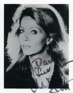 INGRID PITT - AUTOGRAPHED INSCRIBED PHOTOGRAPH