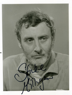 SPIKE (TERENCE) MILLIGAN - AUTOGRAPHED SIGNED PHOTOGRAPH