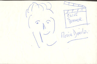 CLIVE DONNER - SELF-CARICATURE SIGNED
