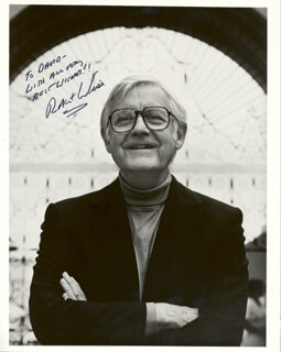 ROBERT WISE - AUTOGRAPHED INSCRIBED PHOTOGRAPH
