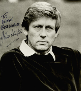 JOHN LEYTON - AUTOGRAPHED INSCRIBED PHOTOGRAPH