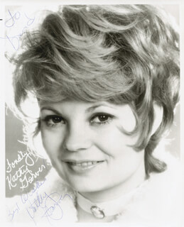 KATHY GARVER - AUTOGRAPHED INSCRIBED PHOTOGRAPH