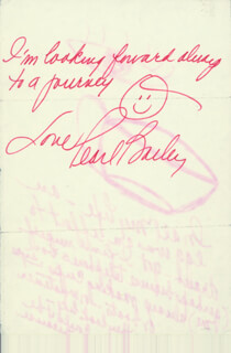 Autographs: PEARL BAILEY - ORIGINAL ART SIGNED