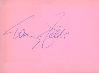 TOMMY FIELDS - AUTOGRAPH CO-SIGNED BY: BILLY TERNENT