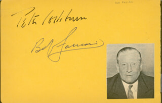 ROBERT H. FABIAN - AUTOGRAPH CO-SIGNED BY: DEREK DEMARNY