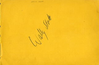 ANGELA (WALLY STOTT) MORLEY - AUTOGRAPH CO-SIGNED BY: HARRY LAWTON