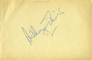 ANTHONY OLIVER - AUTOGRAPH